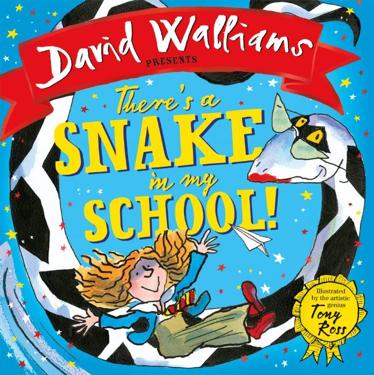 Coming soon: There's a Snake in My School!