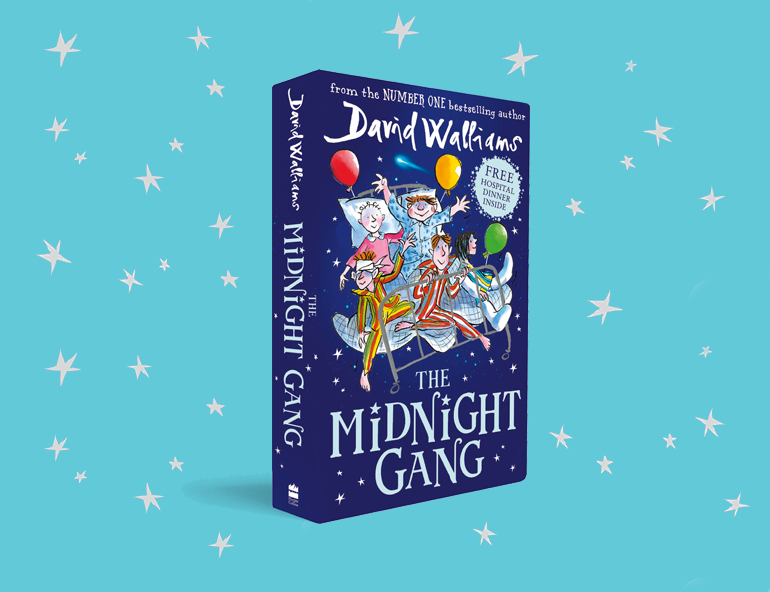 Special Announcement! The Midnight Gang is available to pre-order