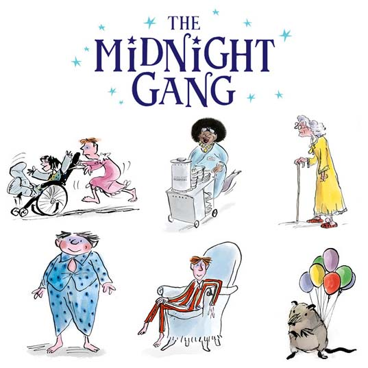 The Midnight Gang Apple Stickers