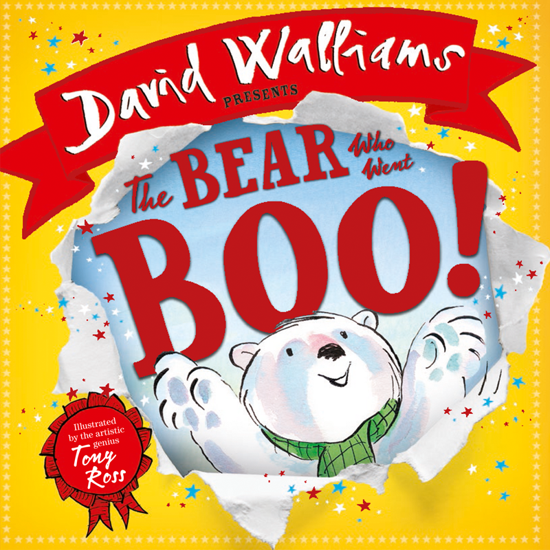 The Bear who went Boo! | Board Book
