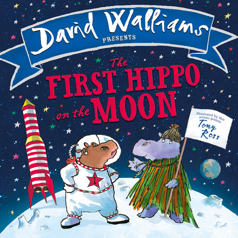 The First Hippo on the Moon | Board Book