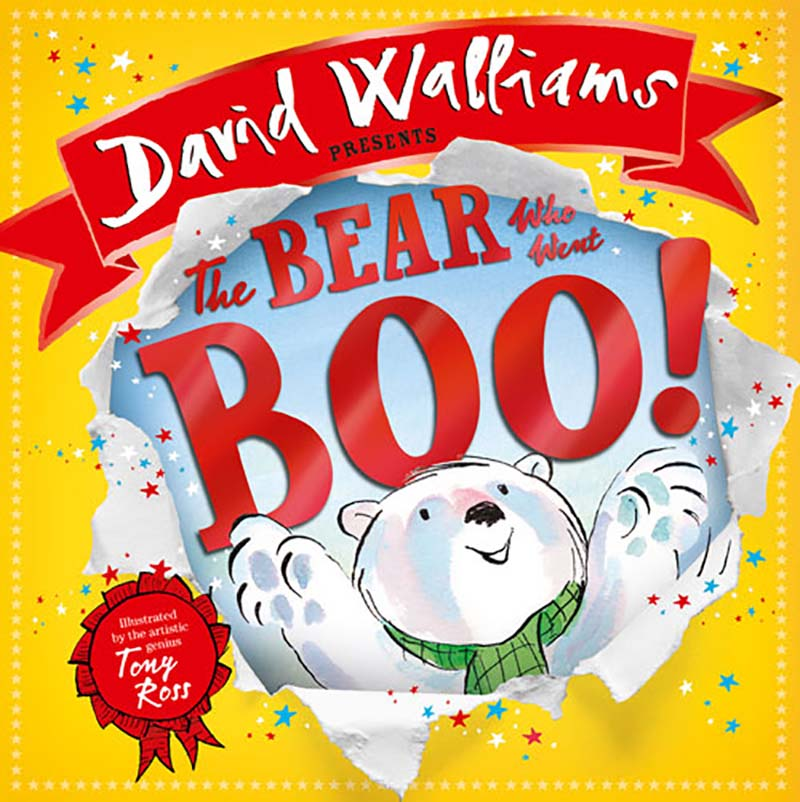 The Bear Who Went Boo! Out Now In Paperback