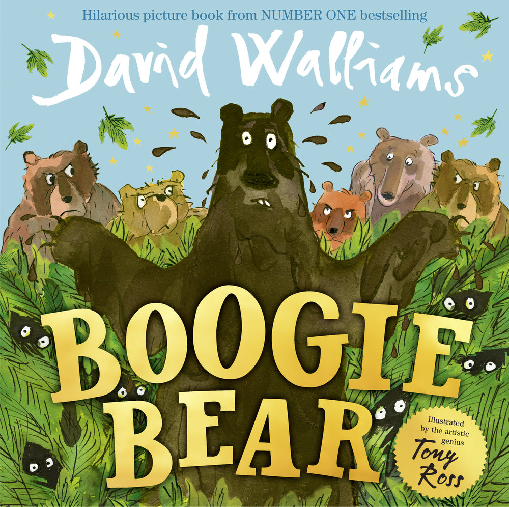 BOOGIE BEAR by David Walliams and Tony Ross is OUT NOW!